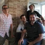 Los cuatro ponentes